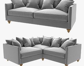 3D Custom made straight and corner sofas