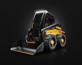 Skid steer loader concept 3D