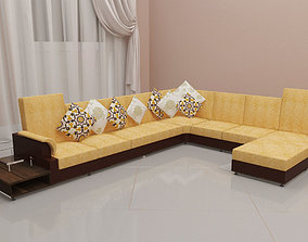 Modern Sofa house 3D printable model