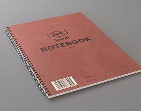 3D model library Spiral Notebook