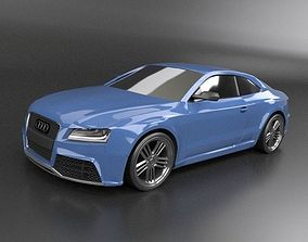 Audi rs5 2011 redesigned 3D