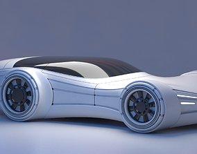 3D Future Car 26