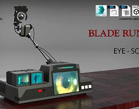 Blade Runner Eye Scanner 3D