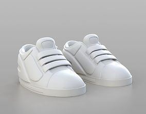 Cartoon Sport Shoes 3D model