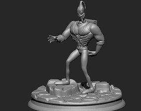 videogame 3D printable model Earthworm Jim
