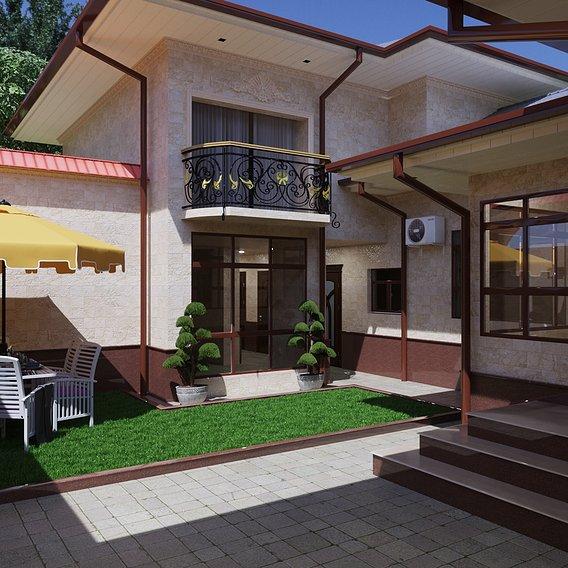 Modest cottage