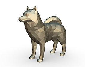 3D print model Husky figure