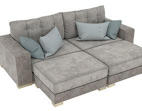 Sofa bed Marquis-2 3D model