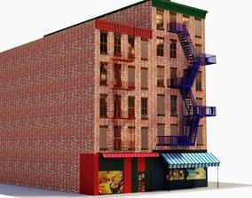 3D asset realtime Chicago Brick Building