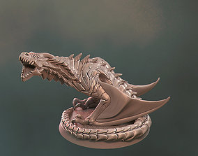 Dragon 3D Print Fantasy Miniature game