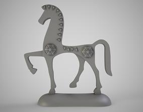 trinket 3D printable model Antique Horse Trinket
