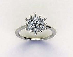 3D printable model design Design Engagement Ring