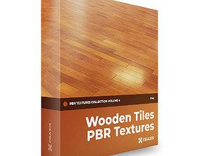 CGAxis PBR Textures Volume 4 Wooden Tiles 3D model