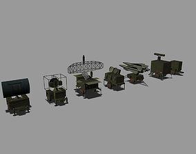 MIM-23 HAWK 3D model