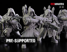 3D print model Janissaries - Squad of the Imperial Force
