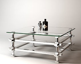 Eichholtz Coffee Table Madagascar 3D model