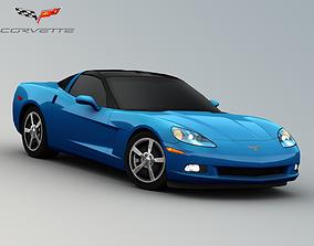 3D model 2008 Chevrolet Corvette C6