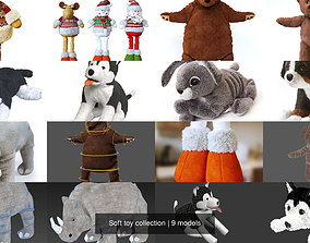 Soft toy collection 3D
