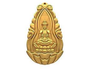 3D model Guanyin pendant