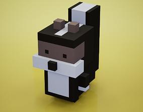 Voxel - Skunk 3D model