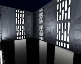 3D print model DEATH STAR DIORAMA FOR 6INCH AND 3 75INCH