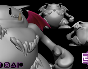 3D printable model Cait Sith - FFVII
