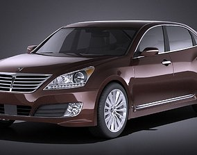 3D Hyundai Equus 2016 VRAY