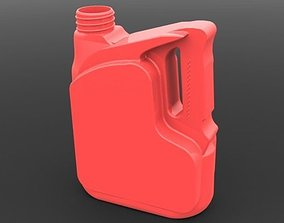 3D printable model 4 Littres Mobil Oil Can