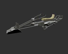 The Mandalorian speeder 3D printable model