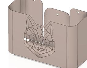 3D printable model shelf holder kitchen bath nh07 2