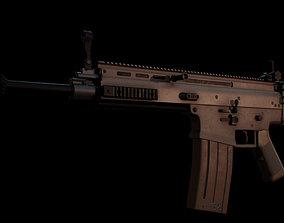 FN SCAR-H 3D model