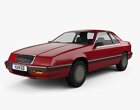 3D Chrysler LeBaron coupe 1987