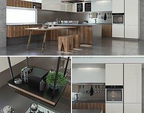 3D Kitchen Cucine Stosa Infinity Diagonal