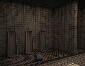 Prison bathroom 3D model