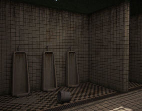 3D model Prison bathroom