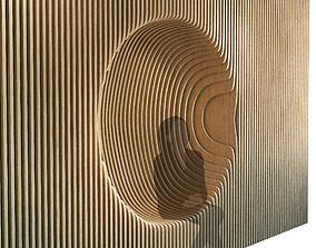 Parametric wall 011 3D