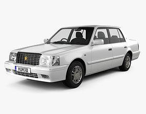 3D model Toyota Crown Comfort 1995