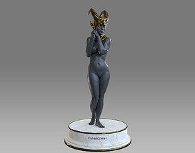 3D model Zodiac Sign Female Capricorn