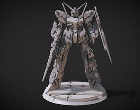 Gundam Unicorn 3D print model