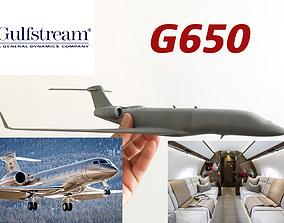 3D printable model challenger Replica Gulfstream G650
