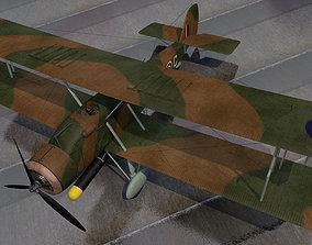 Vickers Wildebeest Mk-4 3D model