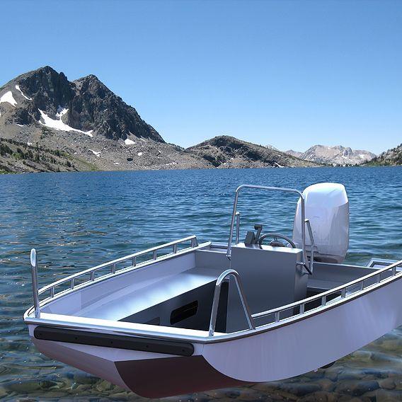 Aluminiu boat 6 meters