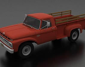 3D model F-Series F-350 Flareside Pickup 1966