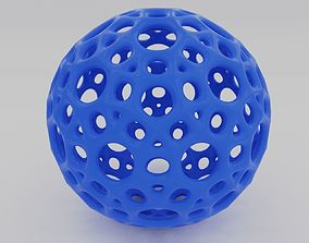 round Beautiful ball with holes 3D printable model