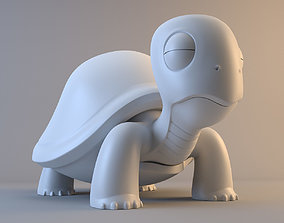 Cartoon Turtle 3D model model