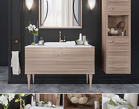 Park Avenue 04 Mia Italia Bathroom furniture 3D model