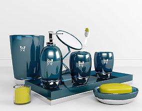 3D Decorative set for bathroom