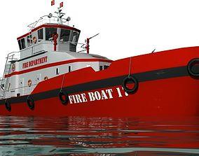 3D Fireboat