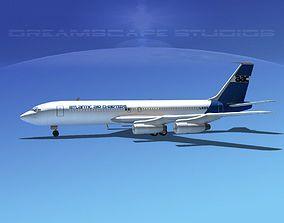Boeing 707 Atlantic Air Charters 3D model