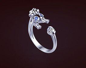 3D print model Sheep ring